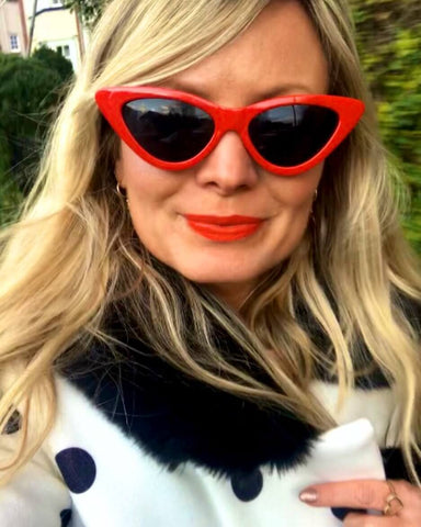 Motley Blog | Stylist Anna Jackson | Red Sunglasses