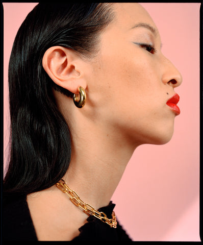 Motley Blog | International Women's Day | Abstract Hoops and Curator Chain