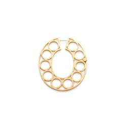 Gold Vermeil Conversation Stopper Boules Earrings - Sian Evans by Motley