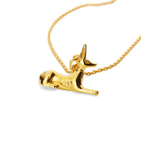Gold Jackal Necklace