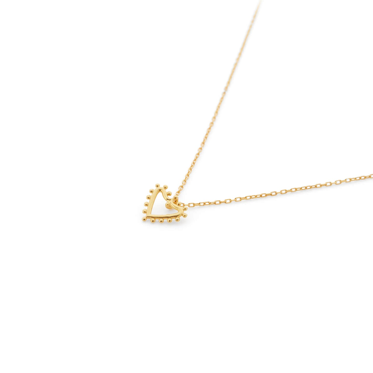 Utopia Necklace in Gold Vermeil