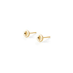 Screw Stud | 18kt Gold Vermeil | Motley x FWJ | Product Shot 1