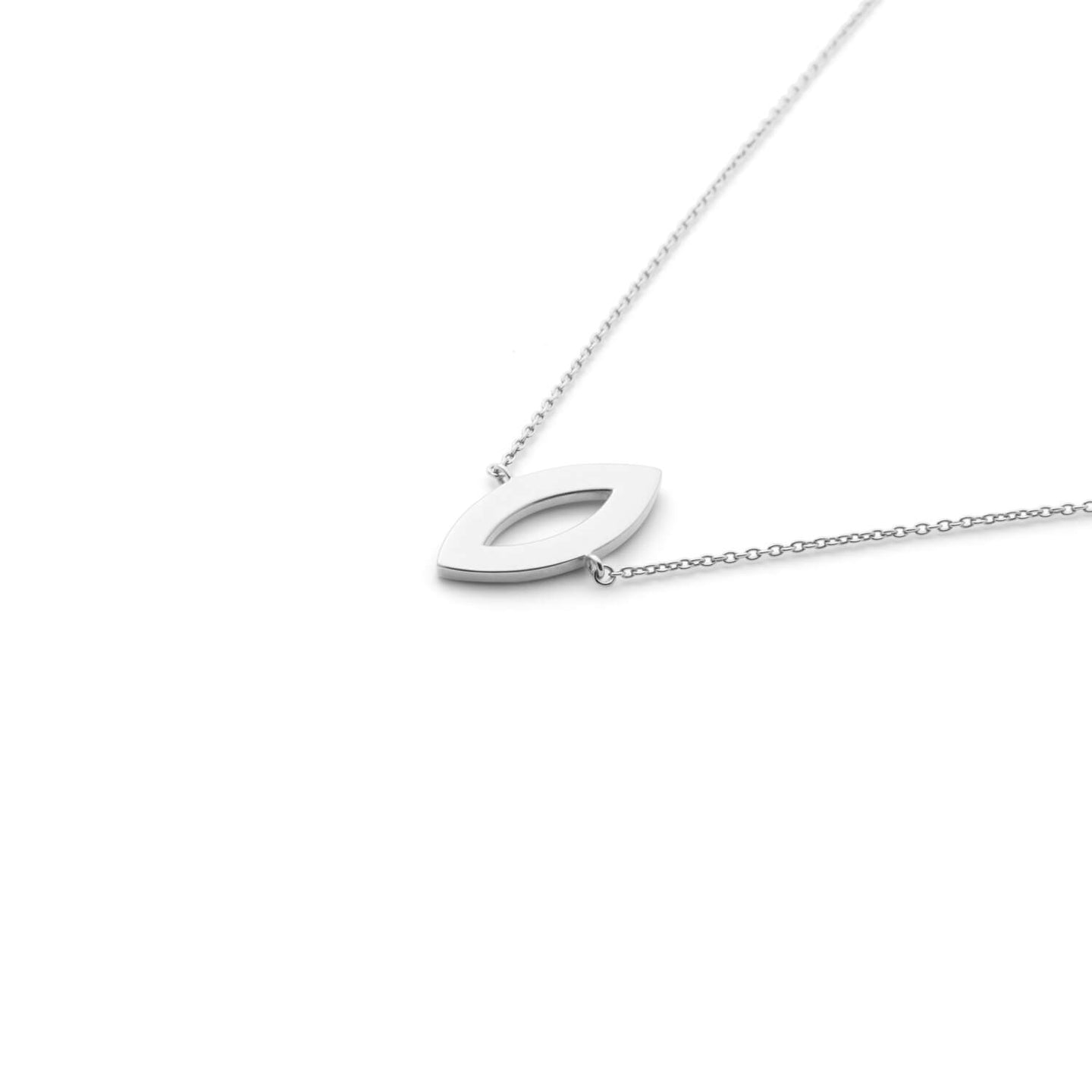 Hey Girl Necklace in Sterling Silver