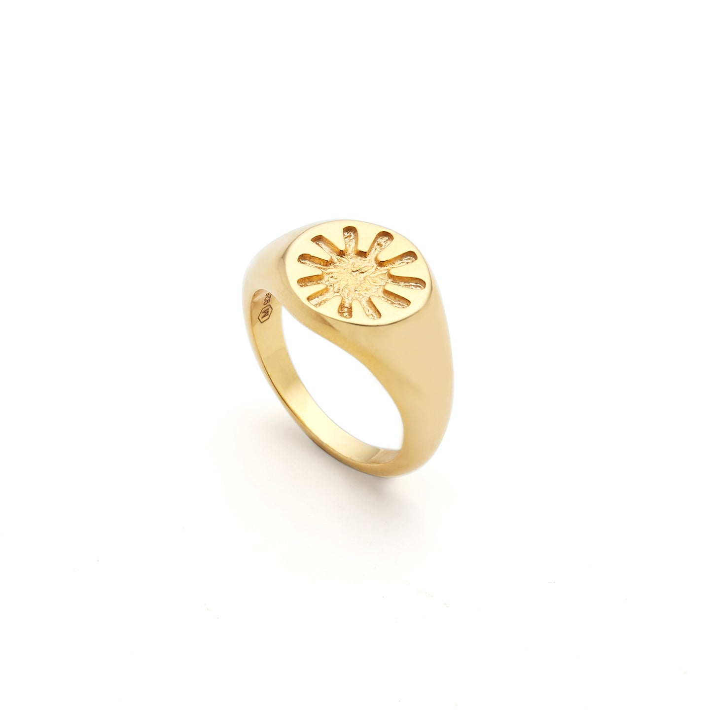 Gold Helios Ring