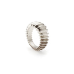 Silver Power Ring | Sterling Silver | Motley x Charlotte Garnett | Product Shot 1