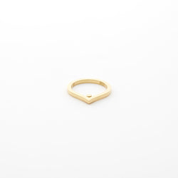 Gold Vermeil Everyday Tear Drop Ring - Alessandro Petrolati by Motley
