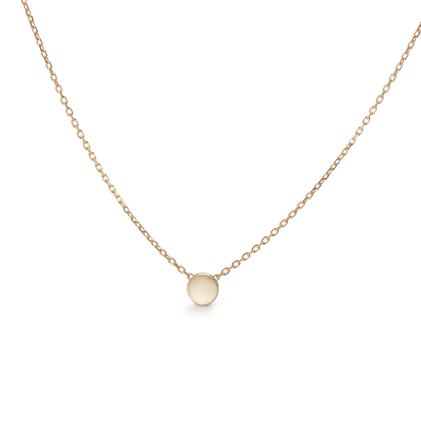Gold Heloise Drop Necklace
