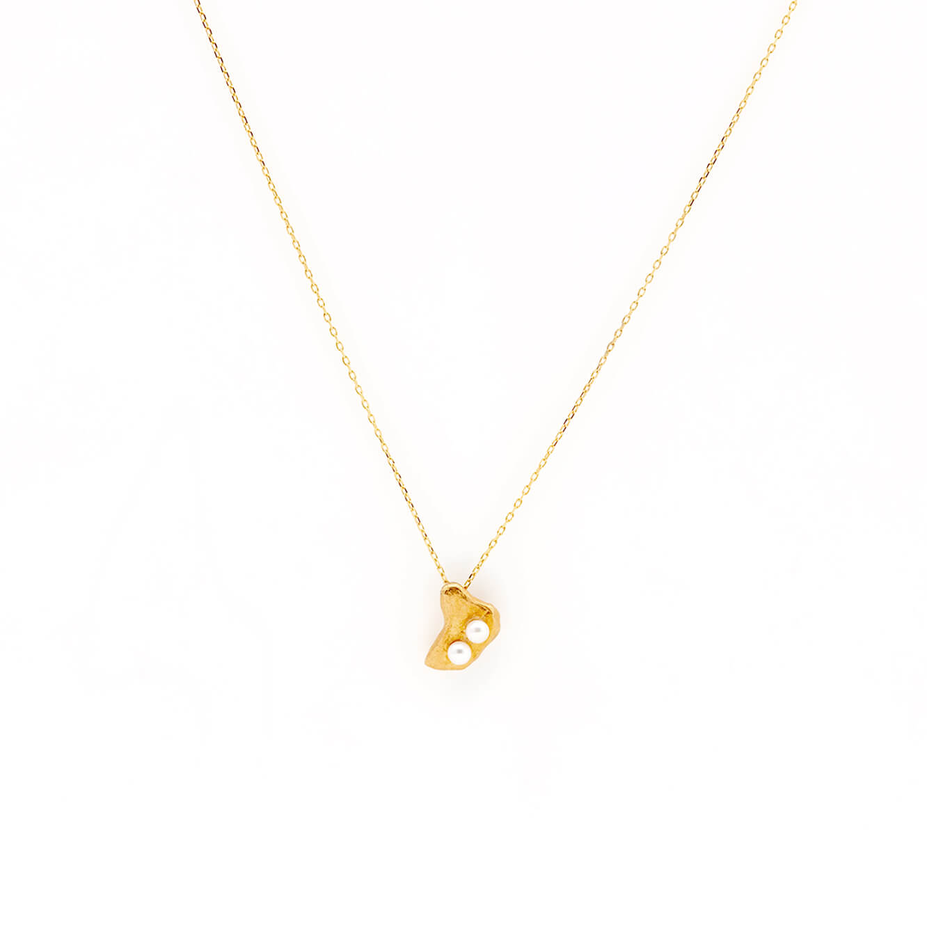 Perle Necklace in Gold Vermeil