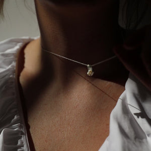 Silver Perle Necklace | Sterling Silver | Motley x Sim & Stout | Video Shot 1