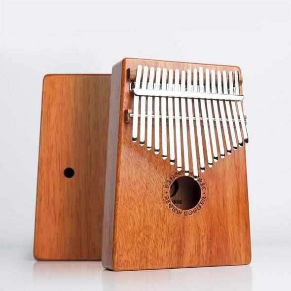 Last day promotion 50% off Gorgeous 17 Keys Kalimba(Great Christmas Gifts)