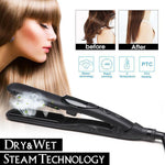 Hot Sale!!!50%OFF>>Free Shipping>> Salon Professional Steam Hair Straightener
