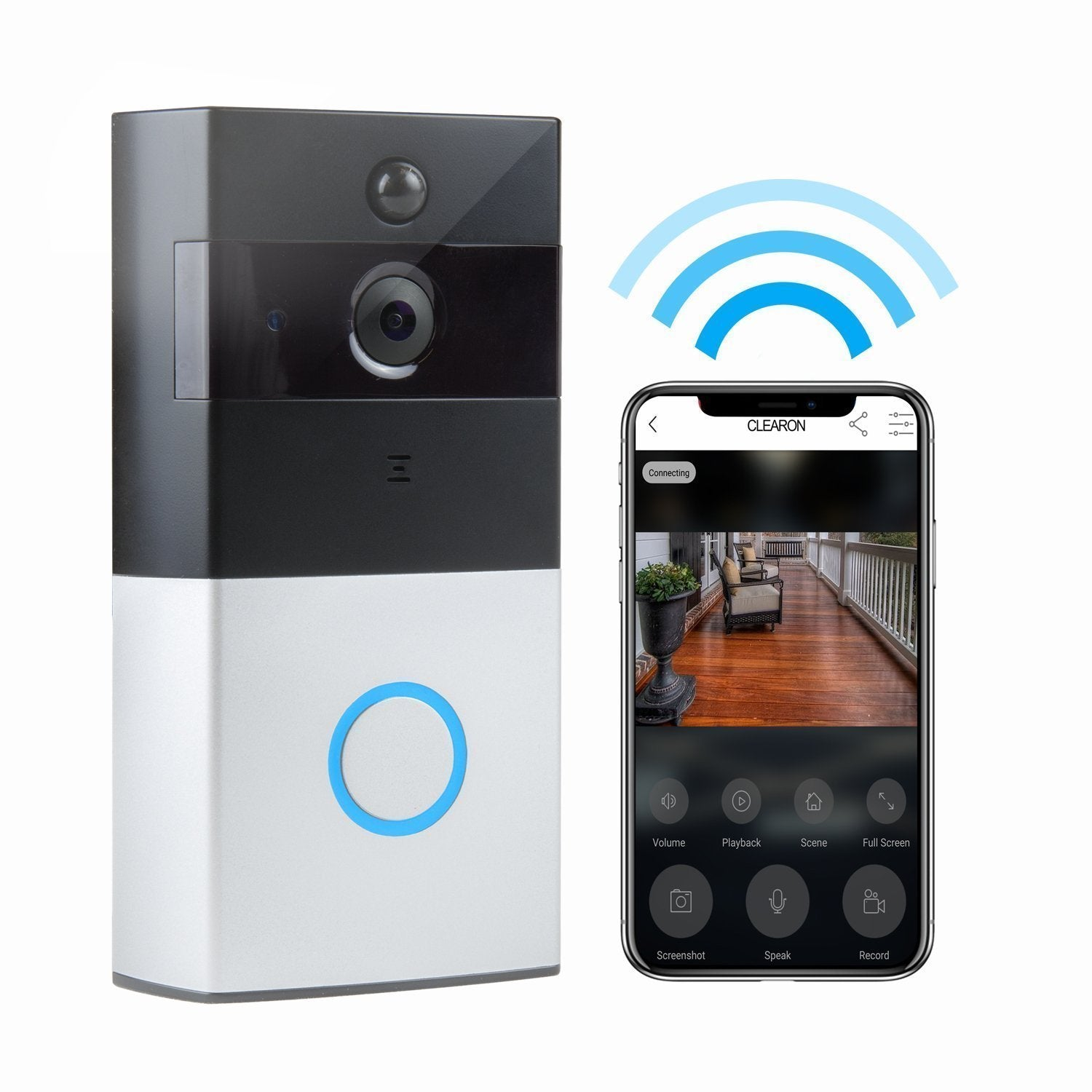 Hot!!!-(Free Shiping)Smart WiFi Video Doorbell