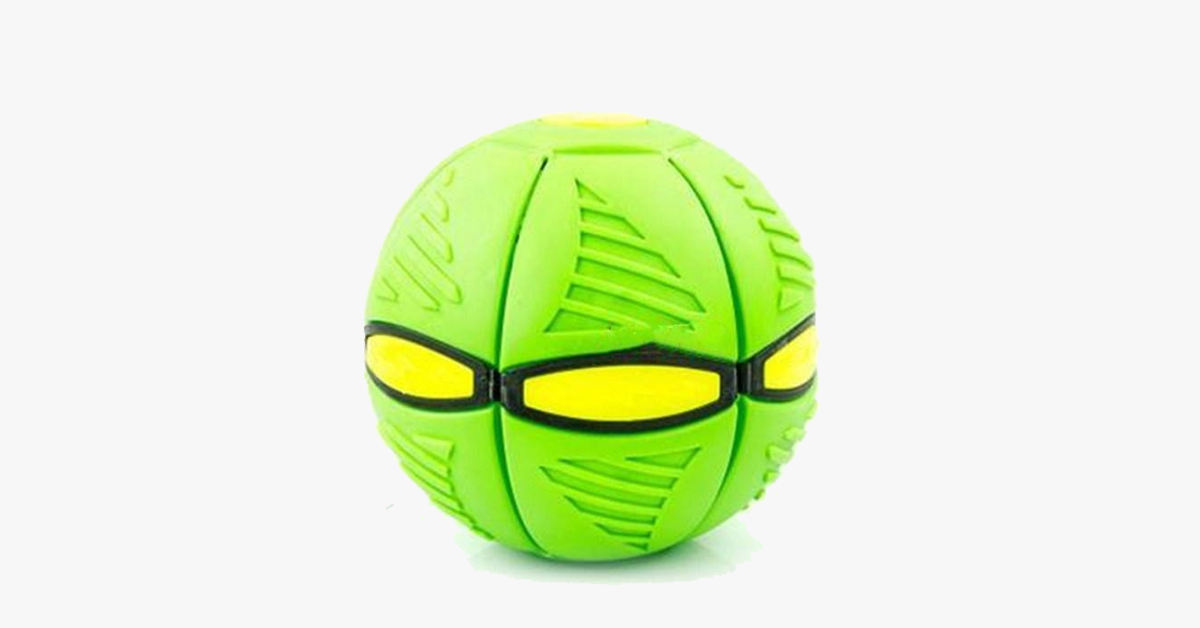 A Frisbee & Ball - All in ONE!!!UFO Magic Ball