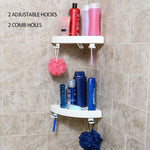 [Limited Sale!]2 Pcs Corner Triangle Storage Shelf Organizer