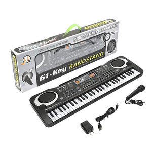 Piano for Kids, Multi-function 61 Keys Electronic Organ Kids Piano Musical Teaching Keyboard Toy for Kids Children