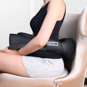Shiatsu Neck and Shoulder Massager Electric Back Massage Relax in Car Office and Home