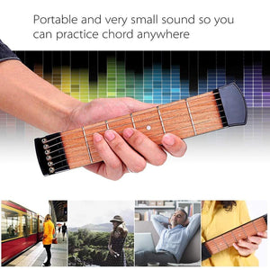 The Best Christmas Present !! Pocket Guitar Practice Tool!Buy Two Free Shipping