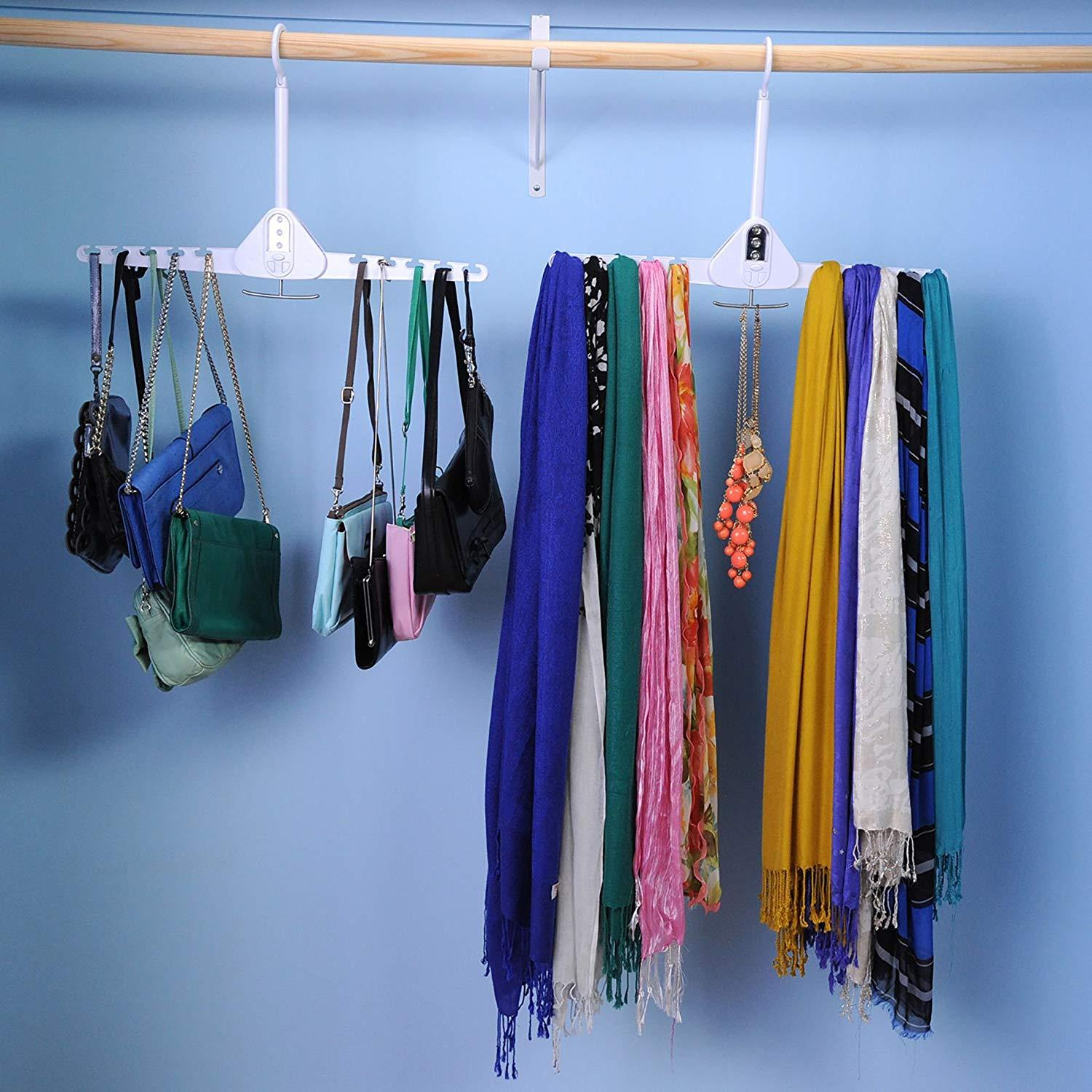 Dual Hanger by Wonder Hanger - Holds More Than 10 Garments
