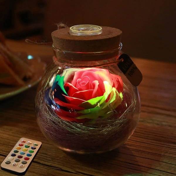 [50% OFF TODAY!!!] Rose Light Bottle