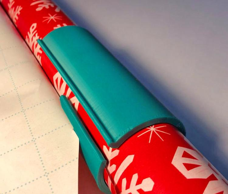 Last  Day Promotion Unique Christmas Sliding Wrapping Paper Cutter
