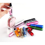 ONLY $4.99-Topseller 5ml Portable Mini Refillable Perfume Atomizer Bottle for Travel Spray Scent Pump Case Multicolor