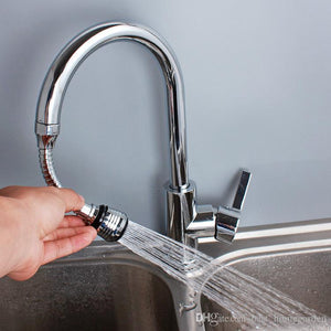 Turbo Flex - 360 Instant Hands Free Faucet Swivel Spray Sink Hose
