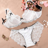 Dower me Bra Sets Free Shipping Underwear Push Up Back Closure seamless wire Free lingerie Adjustable Lace Bras Suits AWR041