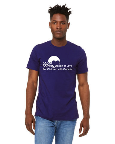Ocean Of Love  - premium cotton t-shirt