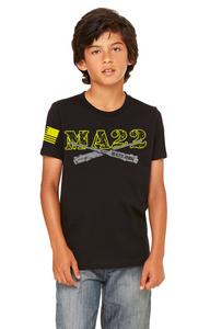 YOUTH -  MA22 #BLACKOPS Tee - KIDS SIZE