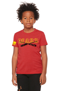 YOUTH -  MA22 #REDFRIDAYS TEE - KIDS SIZE