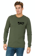 "Load image into Gallery viewer, MA22 OD Green ""22"" long sleeve"