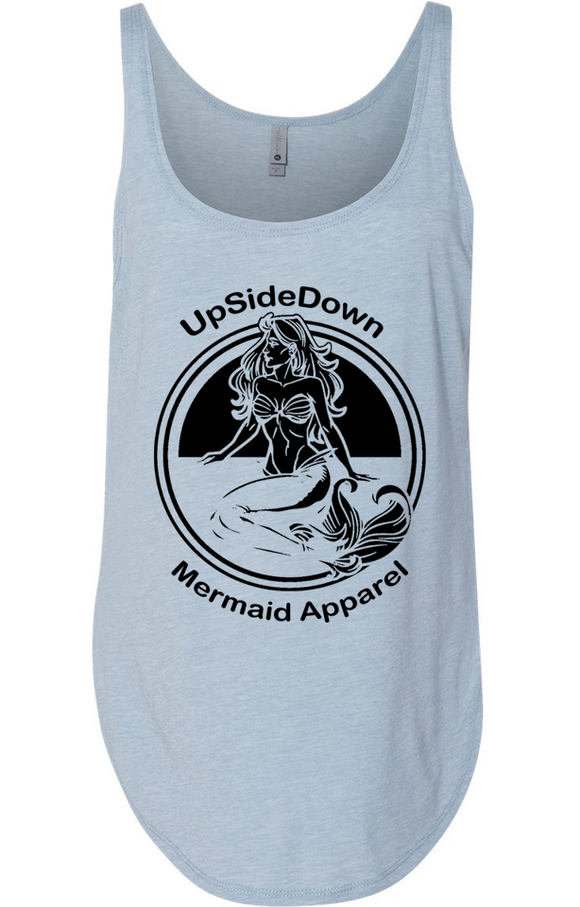 UpSideDownMermaid  Classic Mermaid Tank Top