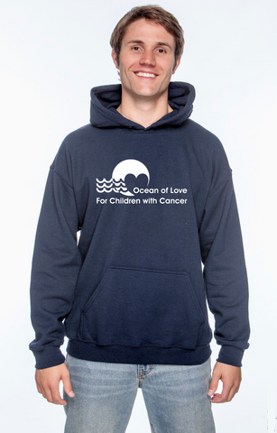 Ocean Of Love  - hooded sweatshirt