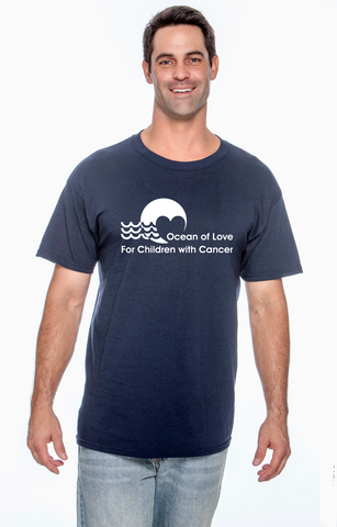 Ocean Of Love  - basic cotton t-shirt