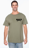 "MA22 OD Green ""22"" triblend T Shirt"
