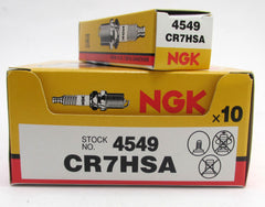 10 x CR7HSA NGK Spark Plugs