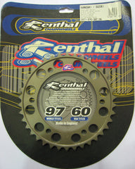 Rear Sprocket Renthal Alloy 206A-530-38P-HA
