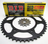 Yamaha DT175  1984-1996 Chain and Sprocket