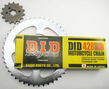 CT110 Chain and Sprocket Set 4 Lug Type 1979-1984