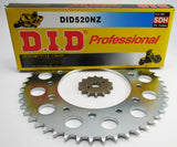 Honda XR500, XR600 NZ Chain and sprocket set