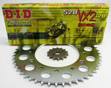 CRF230 Upgraded VX2 Chain and Sprocket Set