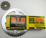 CT110 X D.I.D Chain and Sprocket Set