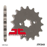 Honda / Kawasaki JTF249.16  Front Sprocket  One tooth up on Standard