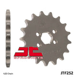 Honda XR75, CRF80, XR80, XR80 Front Sprocket