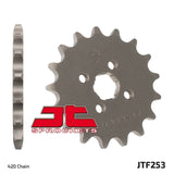 Honda AT70, CR50, CR60, CR80. CRF110, XL50, C70, CF50, ST70  14T Front Sprocket