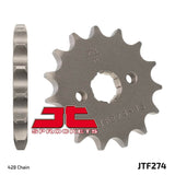 Honda C100, CRF100, XR100R 14T Front Sprocket