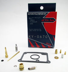 KY-0670 Yamaha YFZ350 LER Carb Repair Kit
