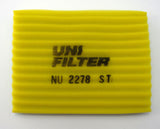 Unifilter NU2278ST Air Filter XT250 85-88, XT350 92-01
