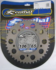 Rear Sprocket Renthal Alloy 409-520-43P-HA