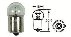 Four HL1610 Indicator 6V Bulbs